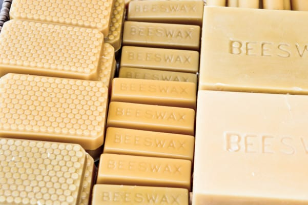 Stored Beeswax